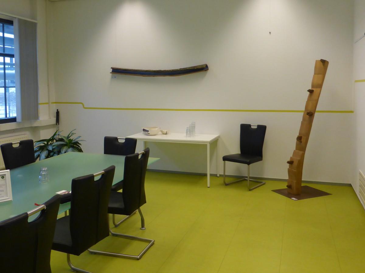 twee objecten bij Seats2Meet, Strijp-S Eindhoven